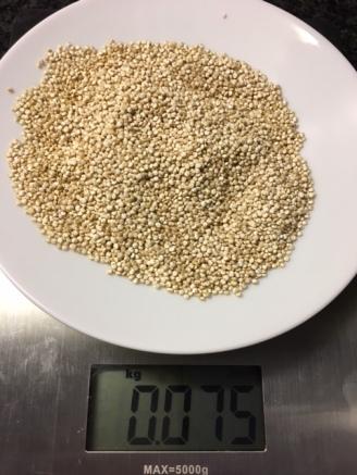75 gram quinoa