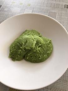 2 eetlepels aardappelen, broccoli en kip